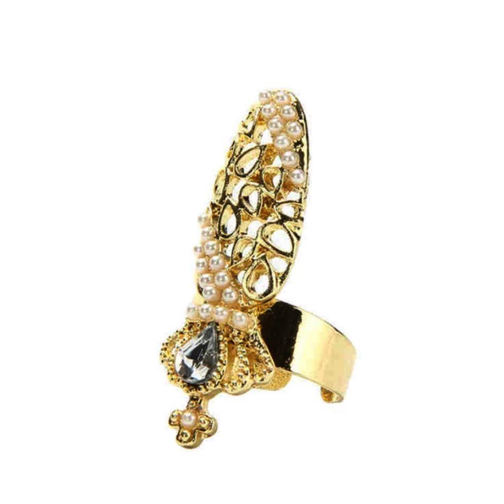 Nail Ring 9 - prsteň s nechtom