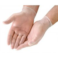 Vinylové nepudrované rukavice - S - 1 pár