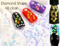 Ozdoby 3 - Diamond Shape AB color