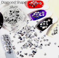 Ozdoby 4 - Diamond Shape Silver