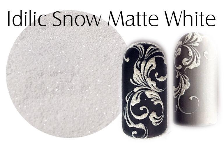 Piesok na nechty White - Idilic Snow