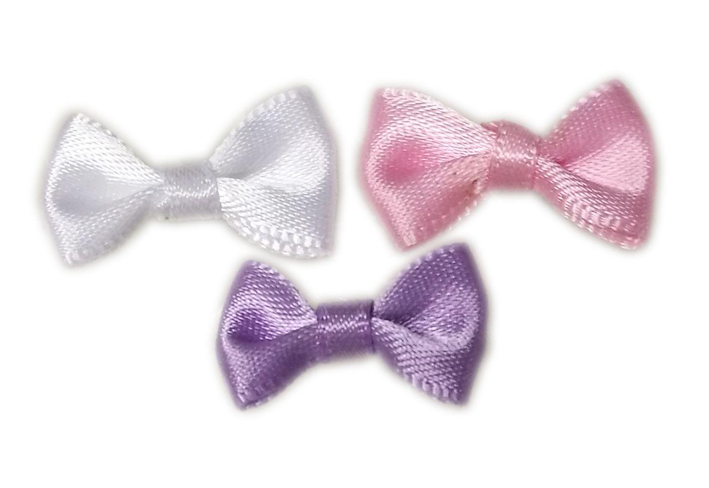 Satin Bow - textilné mašličky na nechty
