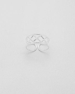 Strieborný mini prstienok Weyron