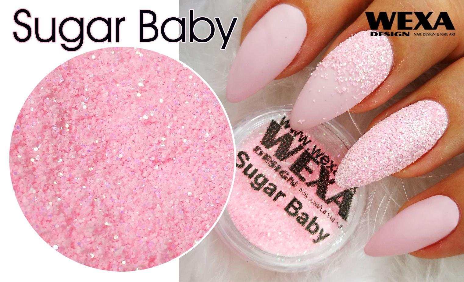 Sugar Baby - trblietavý prášok na nechty