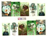 Vodolepky Halloween BN-192