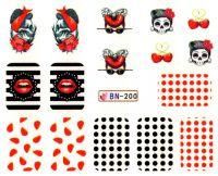 Vodolepky Halloween BN-200