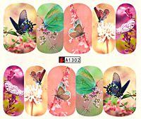 Vodolepky Motýle A1302