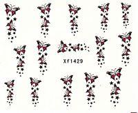 Vodolepky Motýle XF1429