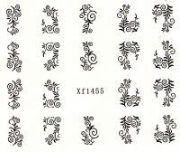 Vodolepky Ornamenty XF1455