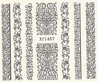 Vodolepky Ornamenty XF1457