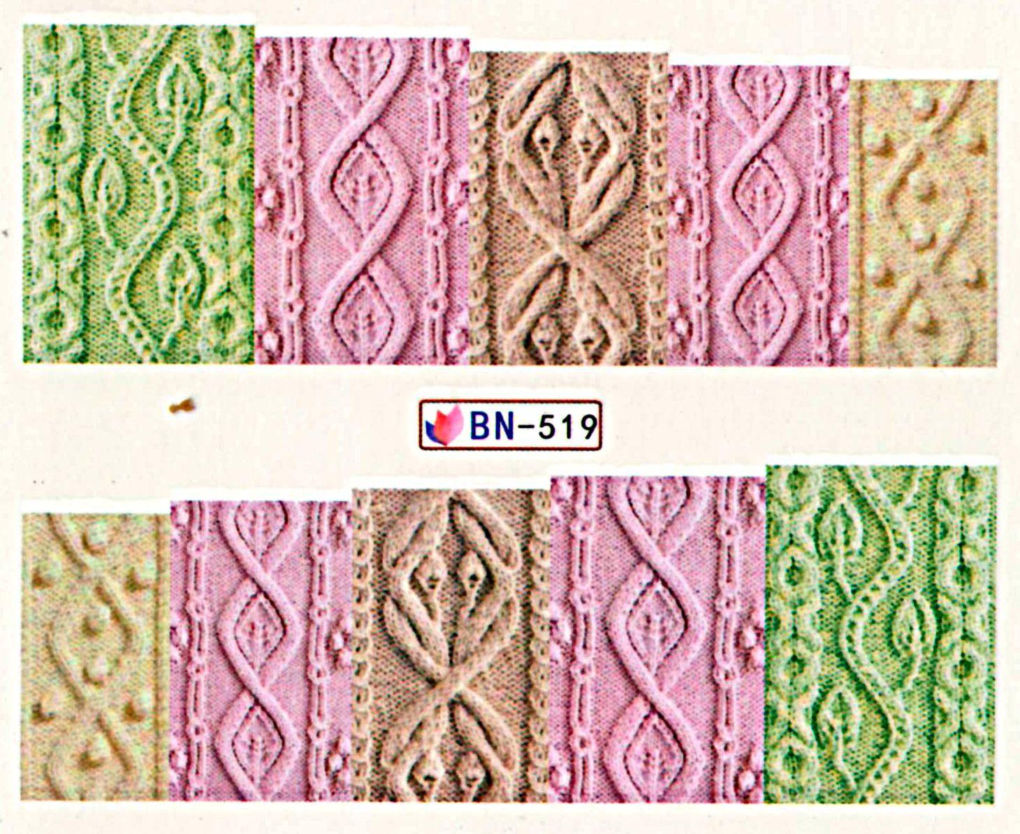 Vodolepky na nechty Svetrík BN-519
