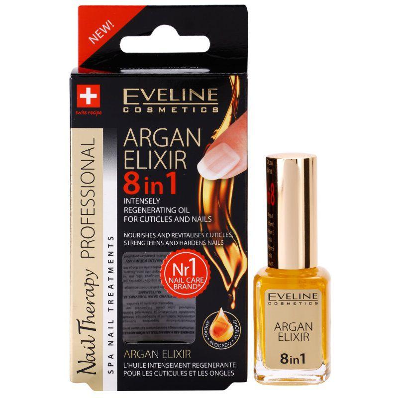 Eveline Argan Elixir 8v1 intenzívny regeneračný olej