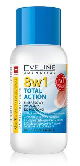 Eveline - expresný odlakovač na nechty 8v1