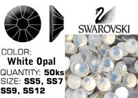 Swarovski F - White Opal
