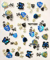 Nálepky Blue Holo YGYY098 / YGYY115