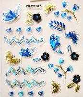 Nálepky Blue Holo YGYY101