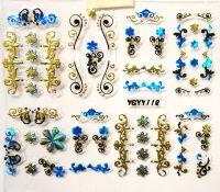 Nálepky Blue Holo YGYY104 / YGYY118