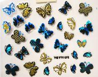 Nálepky Blue Holo YGYY105 / YGYY114