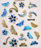 Nálepky Blue Holo YGYY108 / YGYY117