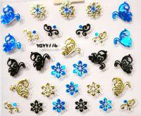 Nálepky Blue Holo YGYY116