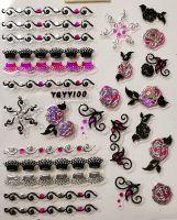 Nálepky Pink Holo YGYY100
