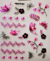 Nálepky Pink Holo YGYY101