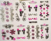 Nálepky Pink Holo YGYY104 / YGYY118