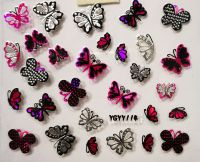 Nálepky Pink Holo YGYY105 / YGYY114