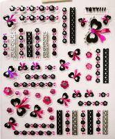 Nálepky Pink Holo YGYY111