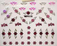 Nálepky Pink Holo YGYY113