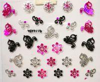 Nálepky Pink Holo YGYY116