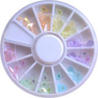 Pearl Acrylic Tier Drops - Wheel