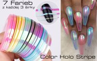 Samolepiaci pásik Color Holographic