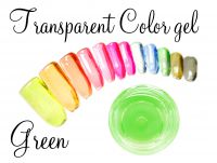Clear color gel - Green