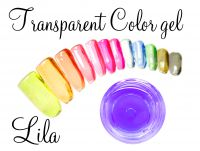 Clear color gel - Lila