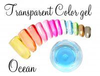 Clear color gel - Ocean