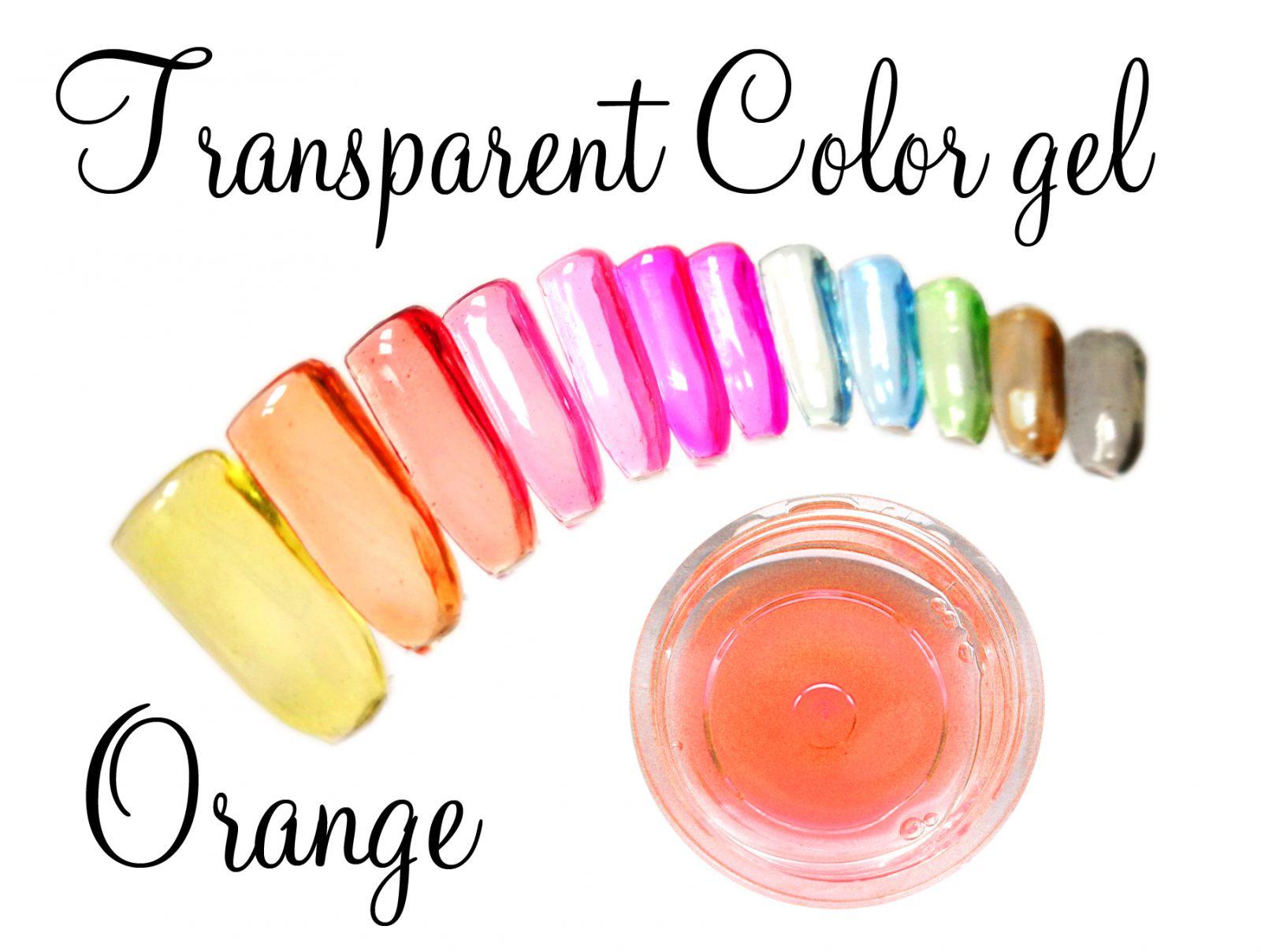 Transparent color gel - Orange