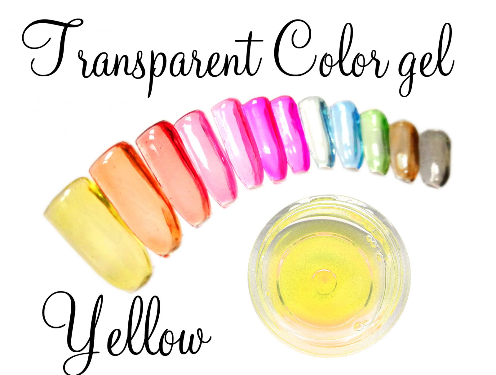 Transparent color gel - Yellow