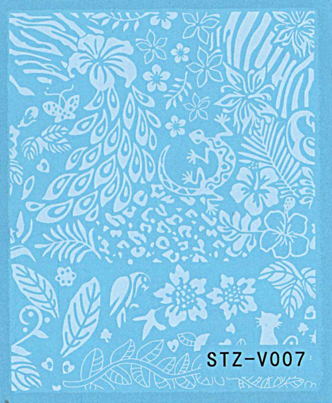 Vodolepky na nechty Blue STZ-V007