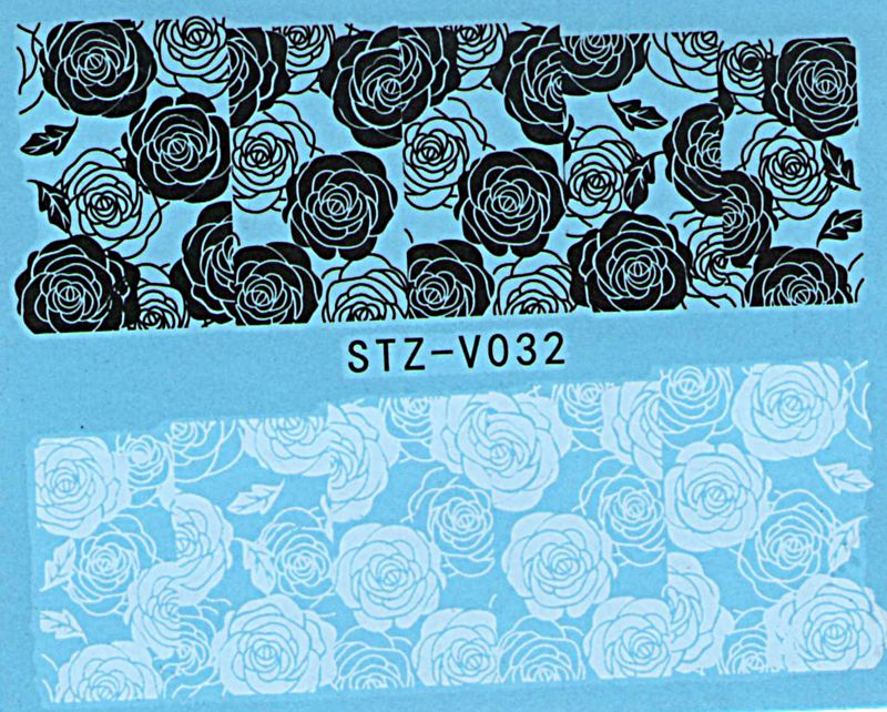 Vodolepky na nechty Blue STZ-V032