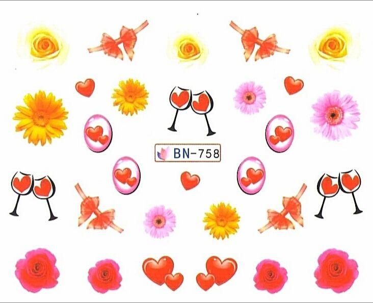 Vodolepky na nechty BN758