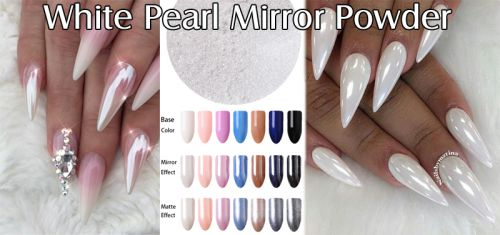 White Pearl Mirror Powder