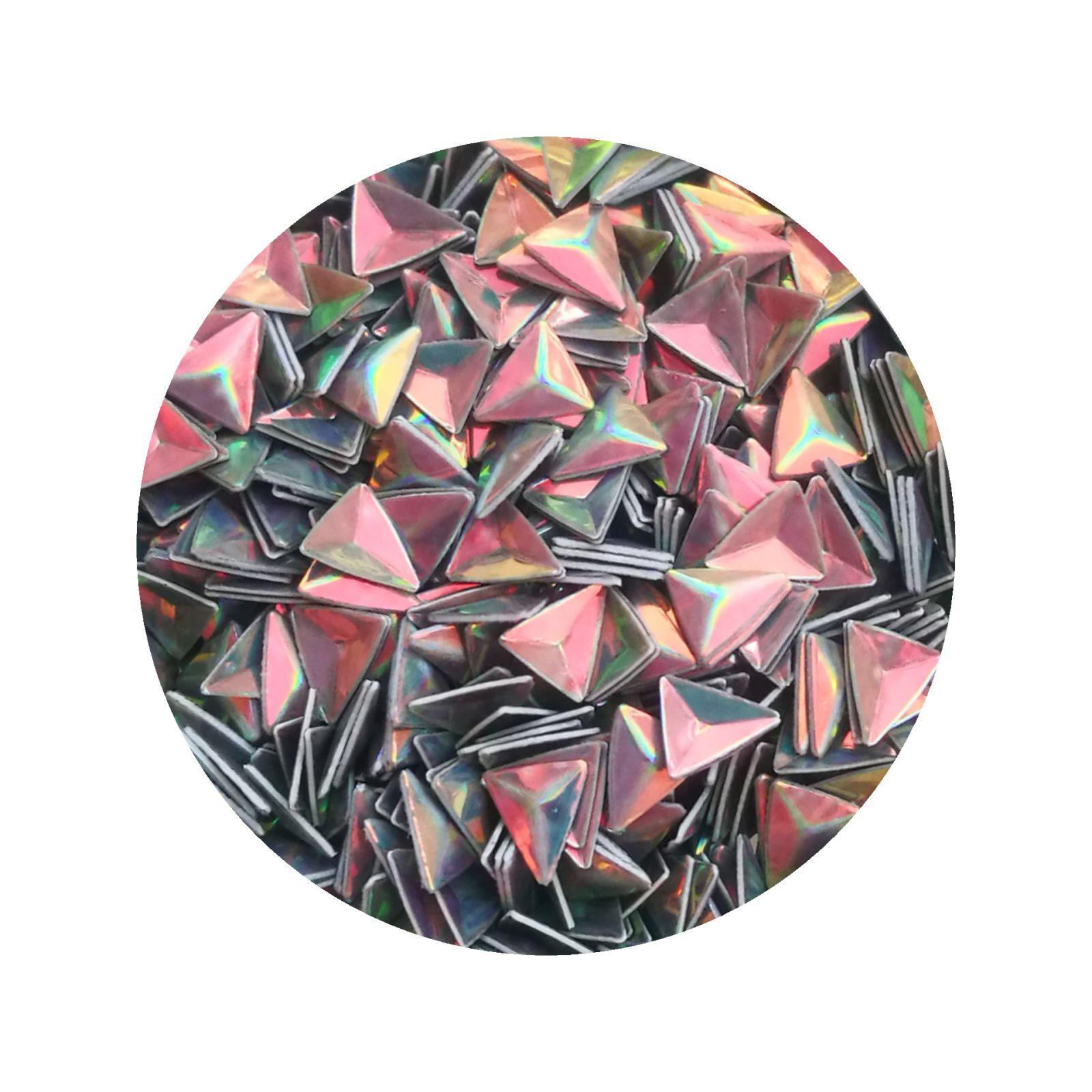 3D trojuholníky na nechty