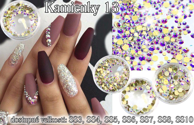 Akrylové kamienky na nechty 13