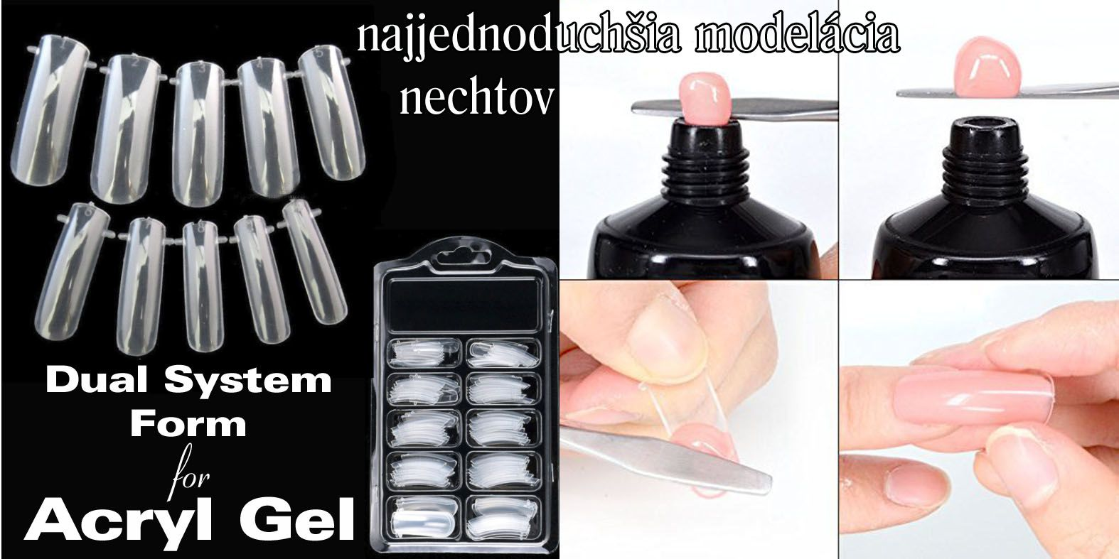 Dual System Form for Acryl Gel