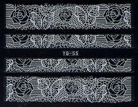 Nálepky čipky YQ-55