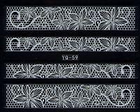Nálepky čipky YQ-059