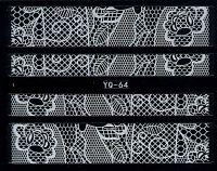Nálepky čipky YQ-064