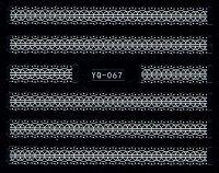 Nálepky čipky YQ-067