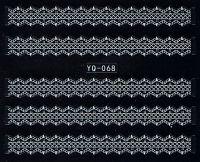 Nálepky čipky YQ-068